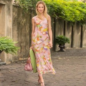 Sundance Into the Mystic Floral Tiered Dress
